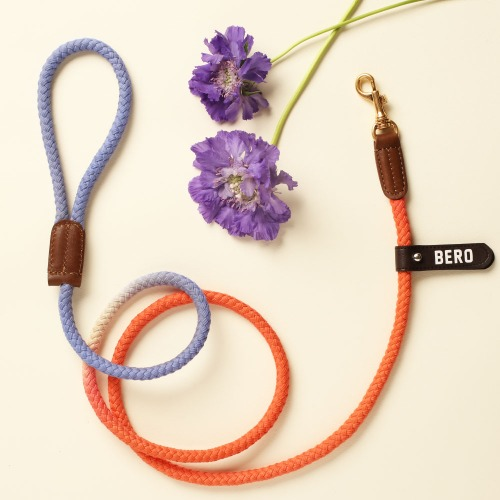 [LIMITED] (TWO TONE) SMART LEASH_ORANGE & PURPLE LILY