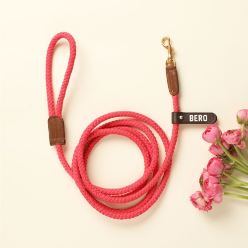 (LONG TYPE) SMART LEASH_HOT PINK