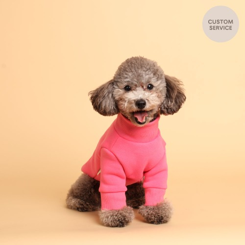 NAME TURTLENECK T_HOTPINK