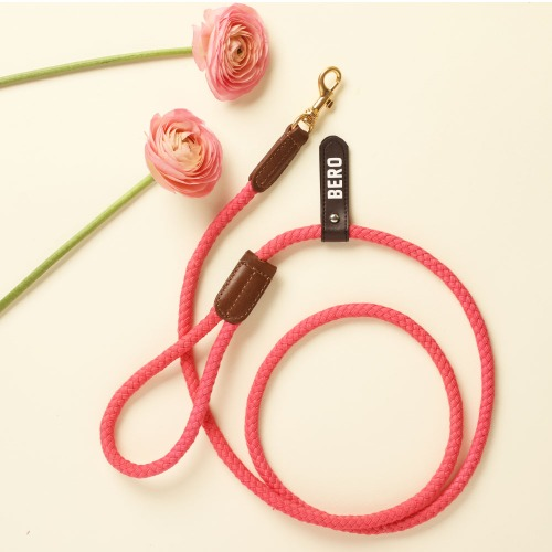 (ONE TONE) SMART LEASH_HOT PINK