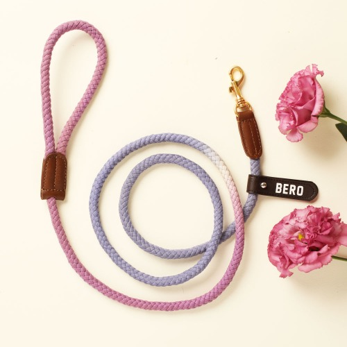 [LIMITED] (TWO TONE) SMART LEASH_LAVENDER GARDEN